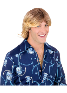 Ladies Man Blonde Wig For Adults