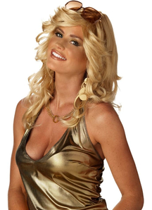 Mama Discorama Blonde Wig For Adults
