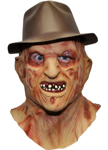 Mask And Hat For Freddy Krueger