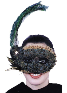 Mask Feather 20S Style For Adults