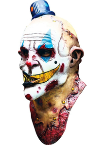 Mime Zack Adult Latex Mask For Halloween