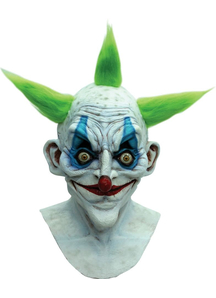Old Clown Latex Mask For Halloween