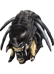Pred-Alien Hybrid Deluxe Mask For Adults