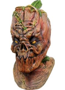 Pumpkenstein Latex Mask For Halloween