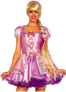 Rapunzel Blonde Wig For Adults
