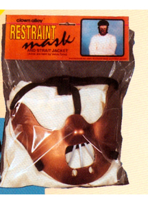 Restraint Mask For Halloween