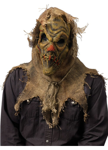 Scarecrow Natural Mask For Halloween
