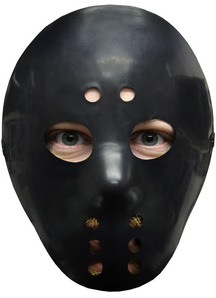 Scary Hockey Mask Black