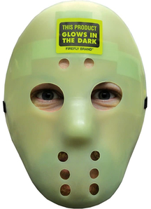 Scary Hockey Mask Glow