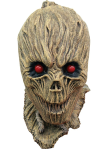 Shrunken Scarecrow Latex Mask For Halloween