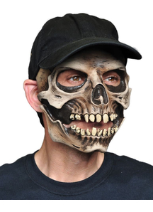 Skull Cap For Halloween