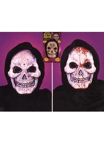 Skull Mask Dripping Bleeding For Halloween