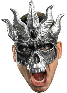 Skull Masquerade Mask For Adults Great Look!