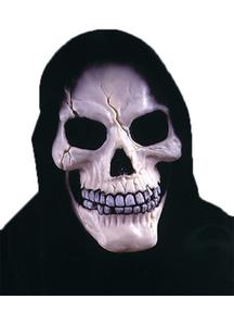 Skull With Shroud Mask For Halloween