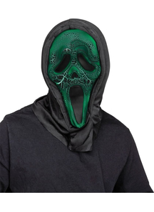 Smoldering Ghost Face Mask For Adults