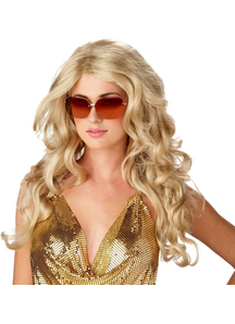 Super Model Blonde Wig For Women