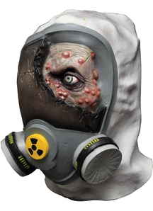 Toxic Zombie Latex Mask For Halloween