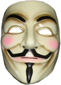 V For Vendetta Mask For Adults