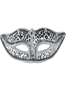 Ven Mask Snow Leopard For Masquerade