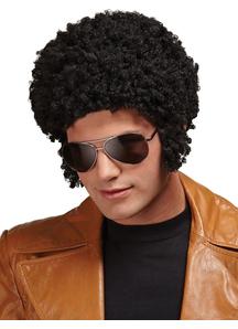 Welcome Back Afro Black Wig For Men
