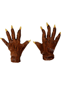 Werewolf Latex Gloves For Adults