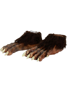 Wolf Latex Feet Deluxe For Adults