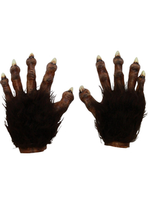 Wolf Latex Hands Deluxe For Adults