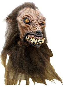 Wolfhound Latex Mask For Halloween