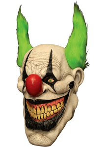 Zippo The Clown Latex Mask For Halloween