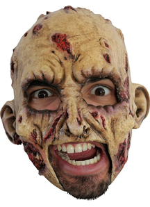 Zombie Latex Mask For Halloween - 18261