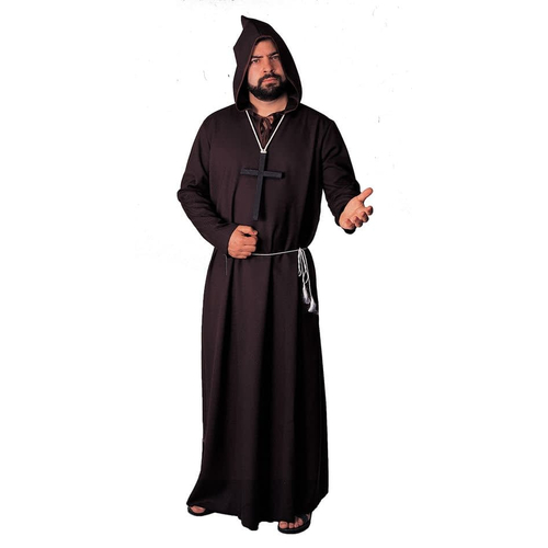 Balck Robe Monk Adult