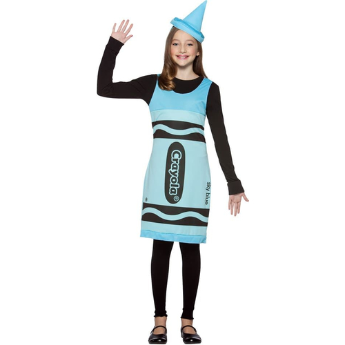Blue Crayola Teen Costume