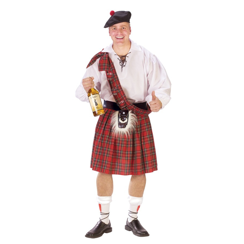 Classic Scotland Kilt Adult