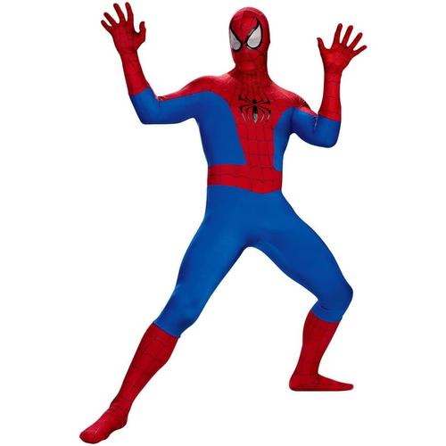 Classic Spiderman Adult Plus Size Costume