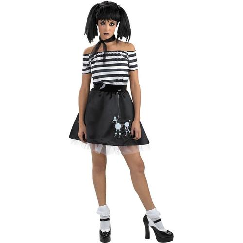Dark Poodle Teen Costume