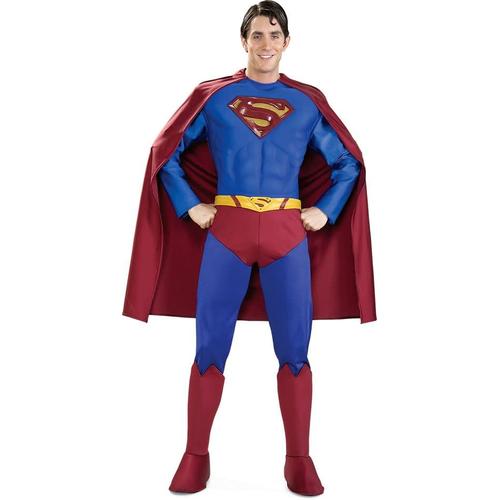 Deluxe Superman Adult Costume - 10419
