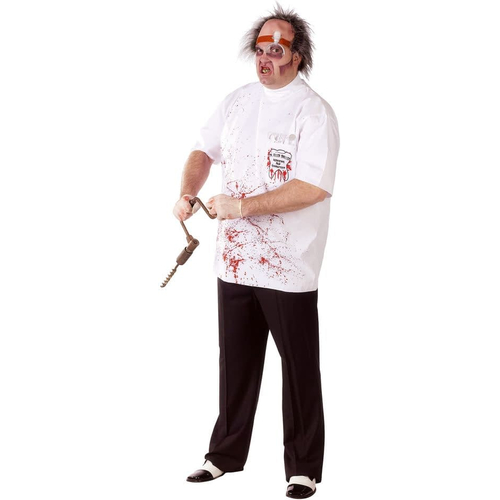 Doctor Driller Adult Plus Size Costume