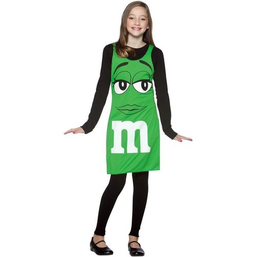 Green M&M'S Teen Costume