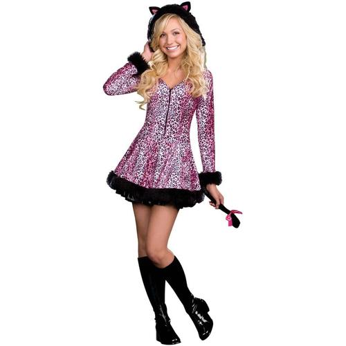 Leopard Kitty Teen Costume