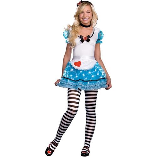 Lighting Alice In Wonderland Teen Costume