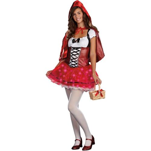 Lighting Red Hood Teen Costume