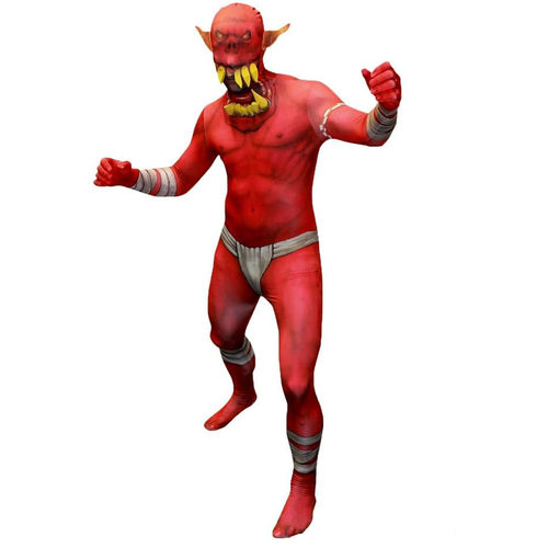 Morphsuit Jaw Dropper Adult Costume