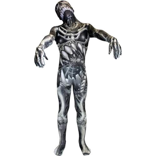Morphsuit Skeleton Adult Costume