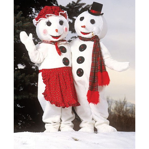Mr Snowman Deluxe Costume