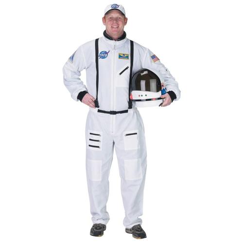 Nasa Astonaut Adult Costume White