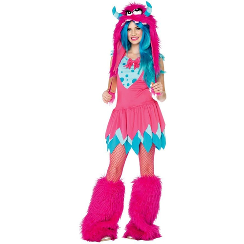 Pink Monster Teen Costume