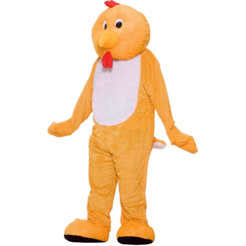 Plush Chicken Adult Costume