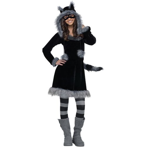 Racoon Teen Costume