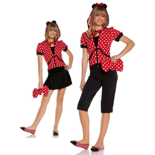 Red Mouse Teen Costume