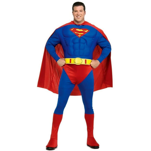 Superman Muscle Adult Plus Costume